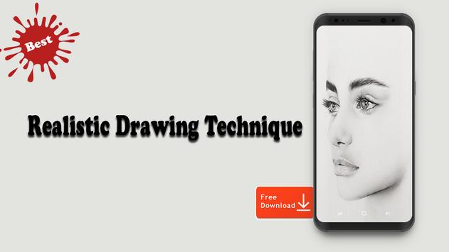 Realistic Drawing Technique screenshot 5