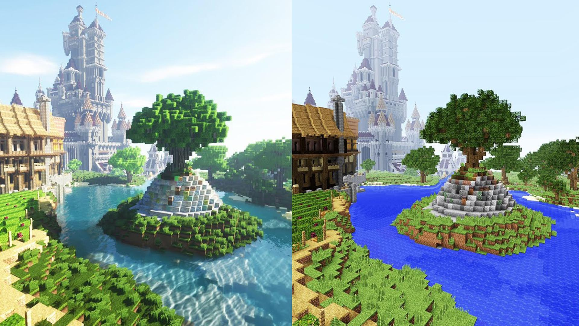 Realistic Texture Pack Natural Shaders Pour Android Telechargez L Apk