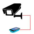 Internet online camera from your phone + Telegram