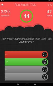 UnOfficial Real Madrid Quiz Trivia Game screenshot 11
