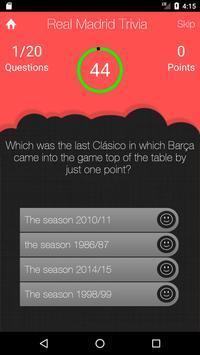 UnOfficial Real Madrid Quiz Trivia Game screenshot 1