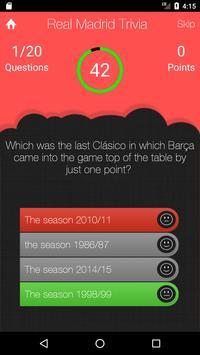 UnOfficial Real Madrid Quiz Trivia Game screenshot 2