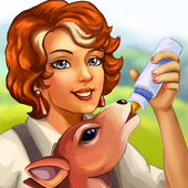 Jane's Farm: farming game - grow fruit & plants icon