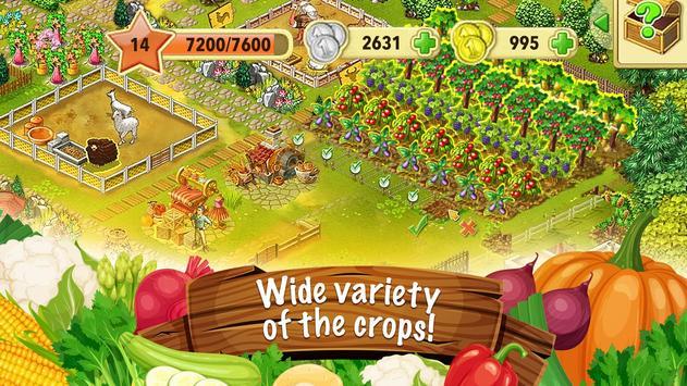 Jane's Farm: Farming Game - Build your Village screenshot 1