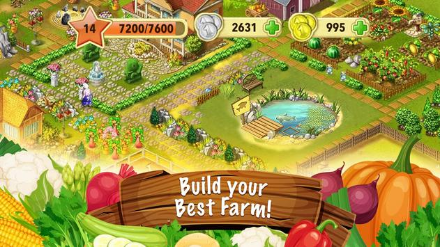Jane's Farm: Farming Game - Build your Village poster