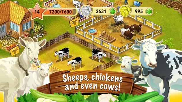 Jane's Farm: Farming Game - Build your Village screenshot 2