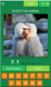 Guess The Animal: Animal Quiz poster