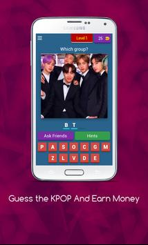 Guess the KPOP Quiz And Earn Money 😍 poster