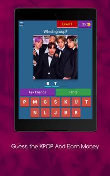 Guess the KPOP Quiz And Earn Money 😍 screenshot 14
