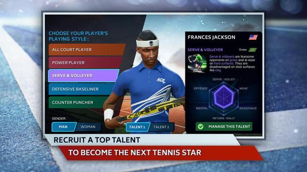 Tennis Manager screenshot 1