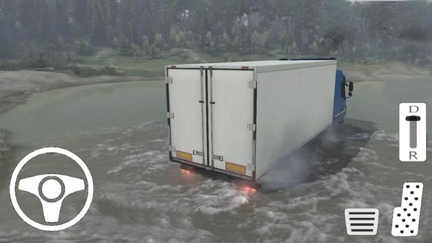 Truck Euro Simulator - Transport Game poster