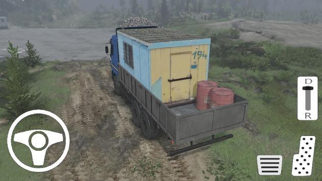 Truck Euro Simulator - Transport Game screenshot 4