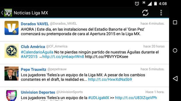 News from League MX screenshot 4