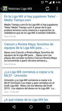 News from League MX screenshot 1