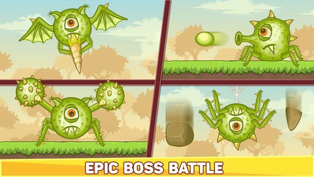 Bounce Ball 5 - Jump Ball Hero Adventure स्क्रीनशॉट 6
