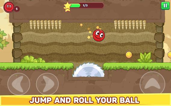 Bounce Ball 5 - Jump Ball Hero Adventure स्क्रीनशॉट 9