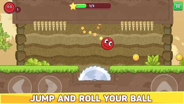 Bounce Ball 5 - Jump Ball Hero Adventure पोस्टर