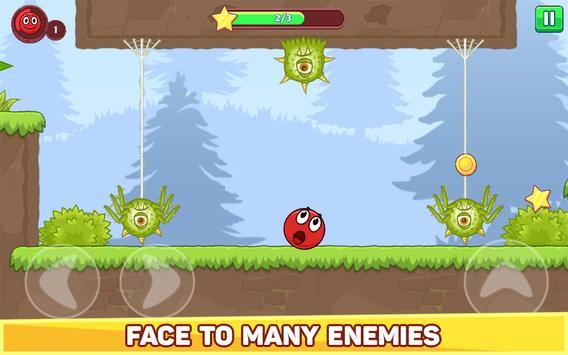 Bounce Ball 5 - Jump Ball Hero Adventure स्क्रीनशॉट 10