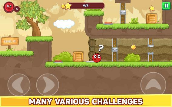 Bounce Ball 5 - Jump Ball Hero Adventure स्क्रीनशॉट 11
