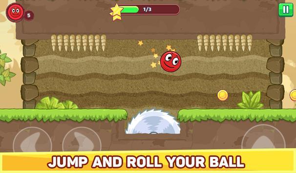 Bounce Ball 5 - Jump Ball Hero Adventure स्क्रीनशॉट 16