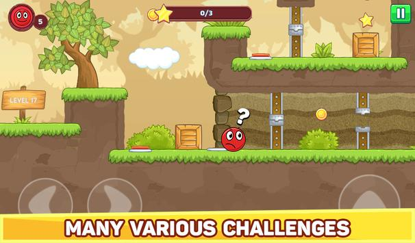 Bounce Ball 5 - Jump Ball Hero Adventure स्क्रीनशॉट 18