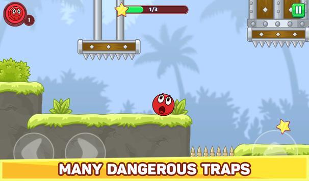 Bounce Ball 5 - Jump Ball Hero Adventure स्क्रीनशॉट 19