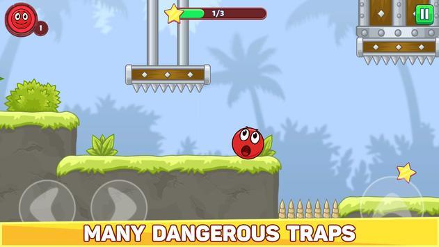 Bounce Ball 5 - Jump Ball Hero Adventure स्क्रीनशॉट 2