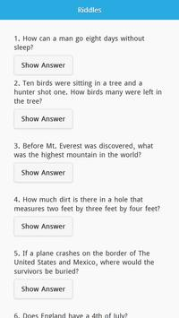 Riddles with Answers Free poster