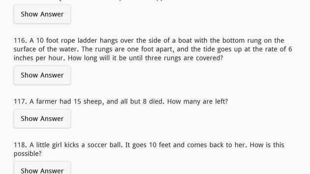 Riddles with Answers Free screenshot 10