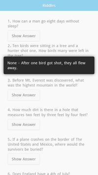 Riddles with Answers Free screenshot 1