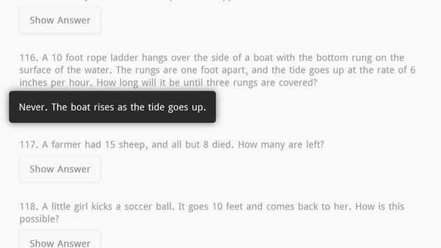 Riddles with Answers Free screenshot 7