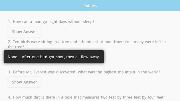 Riddles with Answers Free screenshot 5