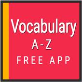 Vocabulary English icon