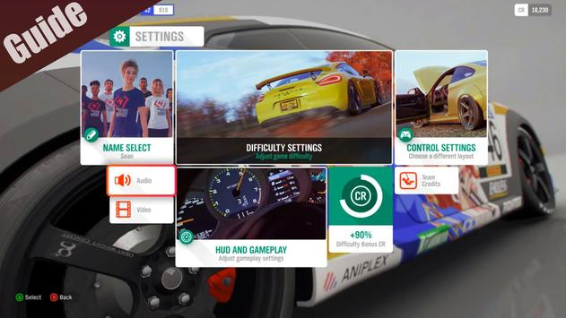 Walkthrough for Forza Horizon mobile Guide screenshot 1