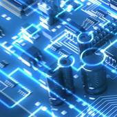 Circuits. Free electronic circuits wallpapers icon