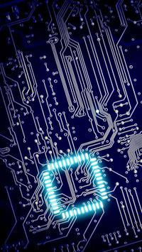 Circuits. Free electronic circuits wallpapers screenshot 3