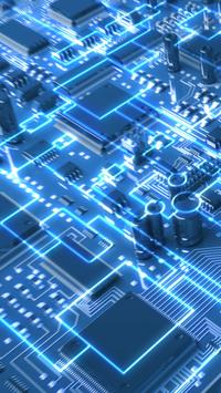 Circuits. Free electronic circuits wallpapers screenshot 8