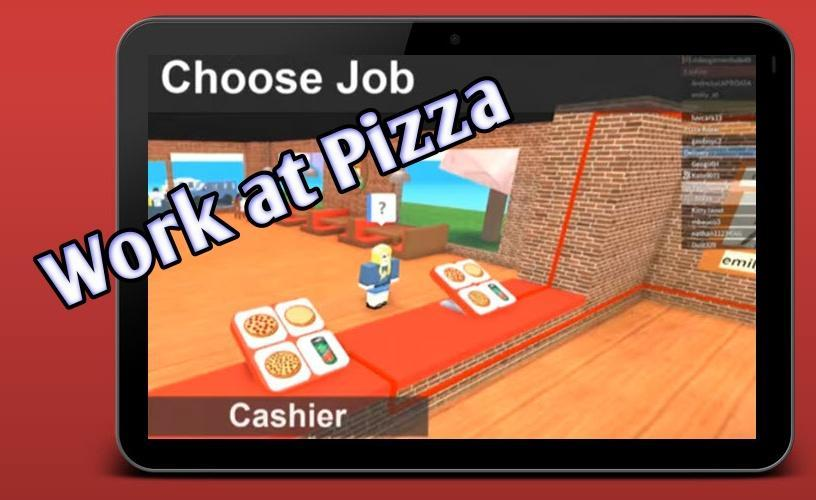 Map Mods Working At Pizza Place Obby For Android Apk Download