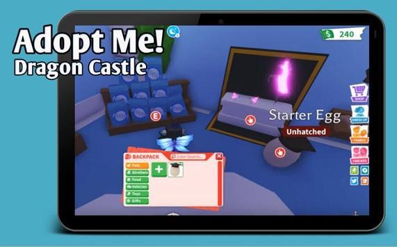 Map Mods Adopt Me New Dragon Castle update screenshot 3