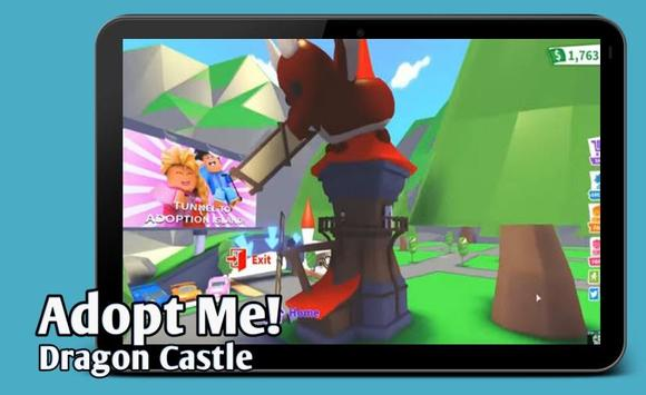 Map Mods Adopt Me New Dragon Castle update poster