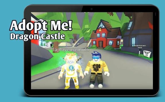 Map Mods Adopt Me New Dragon Castle update screenshot 5