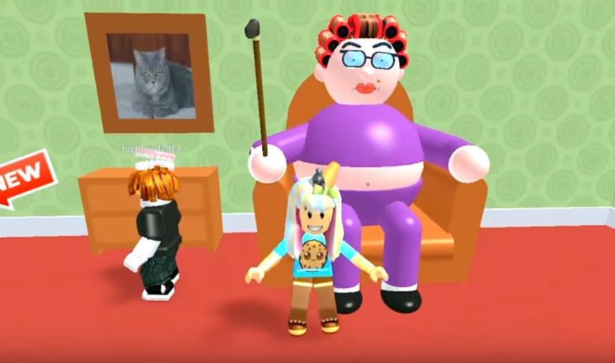 Map Mods The Escape Grandma S House Obby Game For Android Apk