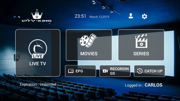 IPTV KING capture d'écran 1