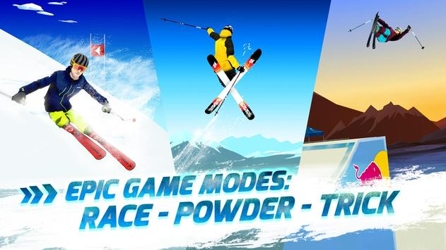 Red Bull Free Skiing poster