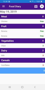 Diet Diary screenshot 4