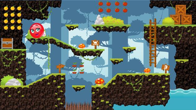 red cute ball-ball games screenshot 3