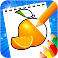Fruits and Vegetables Coloring Game