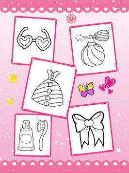Glitter beauty coloring and drawing screenshot 15