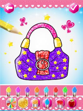Glitter beauty coloring and drawing screenshot 10