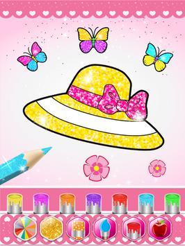 Glitter beauty coloring and drawing screenshot 11
